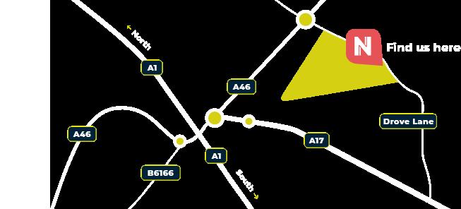 Newark Showground Map